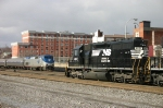 NS 3427 waits for ALTO tower to give him the OK to leve after Amtrak has cleared